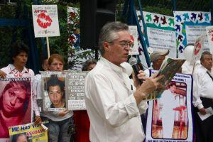 Ricardo Guillermo Gállego, organizador del MPJD e integrante de Iglesias por la Paz