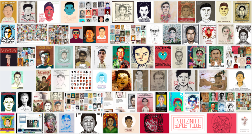 #IlustradoresConAyotzinapa http://ilustradoresconayotzinapa.tumblr.com/